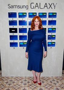 Christina Hendricks – Variety Studio Powered By Samsung Galaxy May 29,