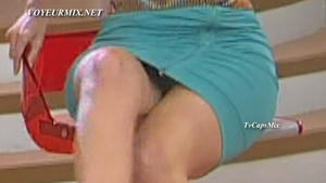 Raquel Bigorra Culazo En Vestido Ajustado Upskirt Hdtv