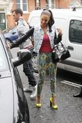 Tulisa Contostavlos at the BBC Radio 1 Maida Vale Studios in London 1st May x7