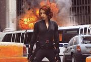 Scarlett Johansson Still From The Avengers