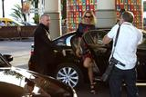 Uma Thurman | Arriving @ Martinez Hotel in Cannes | May 10 | 3 leggy pics