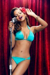 Christina Milian - Sexy in Bikinis ~ Havana Nights Collection for Nicolita